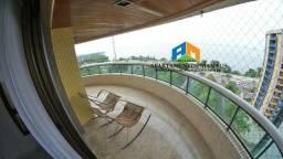 Edifício Varandas do Rio Negro 4 sts 100% mobiliado Vista para o Rio Negro
