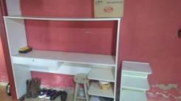 Bancada + vitrine + armário
