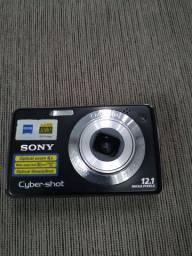 Câmera fotográfica Cyber-shot estragada