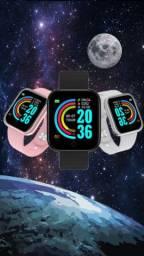 Smartwatch Y68 D20 relógio inteligente esportivo a prova d' Água R$80-R$65