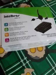 Ctba Telefone analogico com headset intelbras hsb20