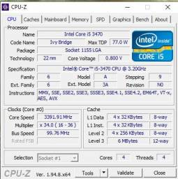 VENDO I5 3TH+ UMA DDR3 4GB+ PLACA MAE ASUS