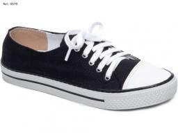 Tênis Feminino Torricella Jeans Azul Solado Flexível Lindo