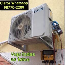 Instalação de Ar Condicionado Split - PENHA e BRÁS DE PINA