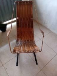 Cadeira de balanço de fibra