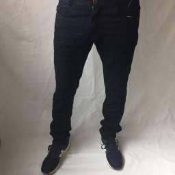 Calça jeans, calça de sarja e calça Jogger masculina com elastano