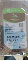 HD interno Seagate barracuda para PC 1tb novo lacrado!!