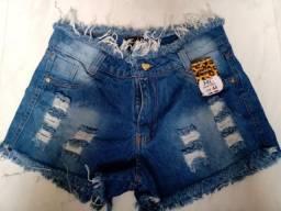 Shorts Jeans Novos, Queima Estoque!
