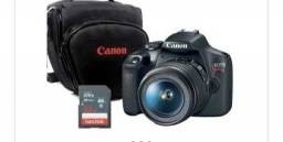 Camera fotográfica canon t7