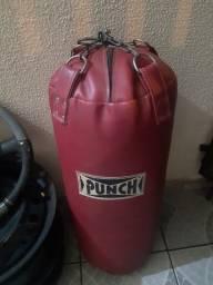 Saco pancadas da Punch kit completo MMA com luvas protetores