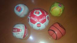 Coleção Bolas Coca Cola + Brinde