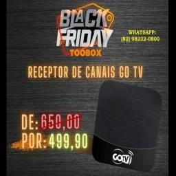 TV Box Com Canais GoTV - Fazemos Entrega!!
