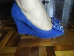 Leia o Anúncio!!! Sapato Feminino Via Marte Anabela. Tamanho 36