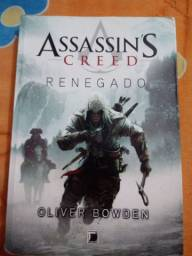 Livro :assassin's creed - renegado (semi novo)