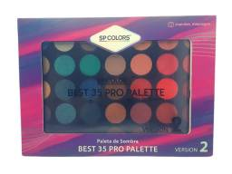 Paleta de Sombra Best 35 Pro Palette Version 2 Sp Colors