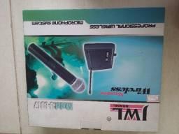 Microfone sem fio profissional novo modelo U-8017
