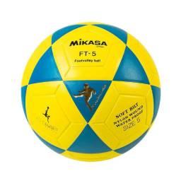 Bola Mikasa Futvolei Oficial FT5 amarela ou vermelha