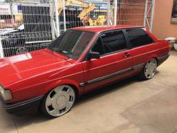 VW Voyage GLS 1988/1989 Relíquia com Rodas 18 cadastrada
