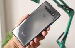 LG K51S 64GB NOVO. ACEITO CARTÃO.