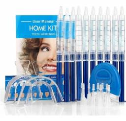 Kit clareamento dental em GEL e Ultravioleta - 10 unidades