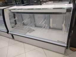 Balcão refrigerado 1,79 frente de padaria - * Irani