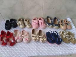 Lote de sandálias promoção