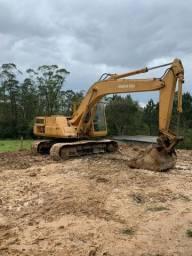 Escavadeira komatsu pc150 série 3