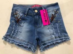 Shorts com elastano levanta bumbum