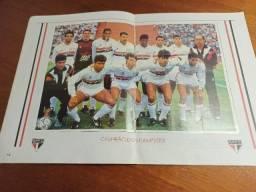Relíquia Tricolor - Álbum De Figurinhas São Paulo Fc