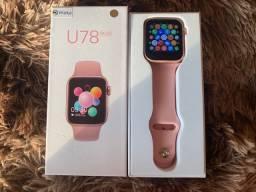 Smartwatch Iwo U78Plus Dourado Rose