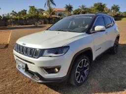 Jeep Compass Limited 2019 Impecavel 20 Mil km rodados Interior caramelo