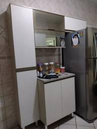 Título do anúncio: Lindo Armário de cozinha crema/linho seminovo