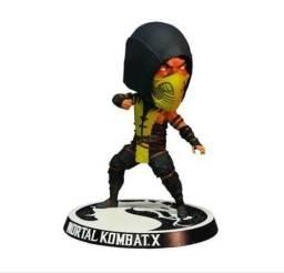 Scorpion Mortal Kombat X Bubblehead Mezco
