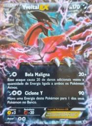 Oferta!! Carta Pokémon Básico Yveltal Ex - Ps 170 Xy08 Promo
