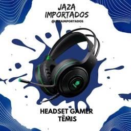 Headset Têmis - ! Desenvolvido com componentes de qualidade, aliados a um driver de 40MM