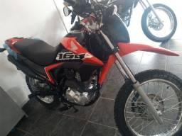 Motociclista Honda