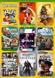 300 jogos a venda para Xbox One, venham conferir a nossa promoção!!