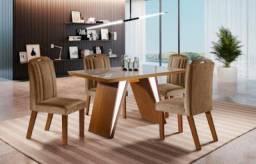 Título do anúncio: Mesa 4 cadeiras Ravena - 1,20x0,80 - LJ