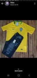 Camisa juvenil  da seleção brasileira