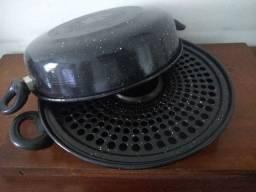 Churrasqueira à vapor de ágata