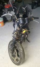 Sucata de moto para retirada de peças Suzuki GS 500 2008/2009