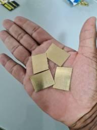 Título do anúncio: Barra  em ouro 18k Lâminada ( 8X sem juros)