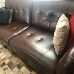 Sofá de corino