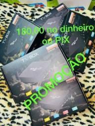 Título do anúncio: Box tv ou tv Box MXQ aparelho TVBOX super PROMOÇÃO últimas unidades