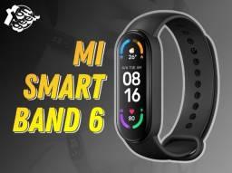Mi Smart Band 6 - Lançamento Xiaomi   Lacrada com garantia   A prova d'agua
