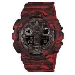 Relógio Masculino Casio G-Shock Digital/Analógico GA-100CM-4ADR