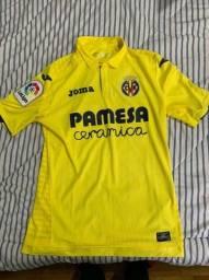 Camisa Villarreal 2017-18 Joma Laliga