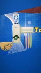 Kit dispensador + Porta escova De 40,00 Por 30,00R$