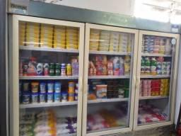 Freezer auto serviço 3 portas funcionando perfeitamente!!