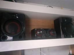 Mini system lg cj65